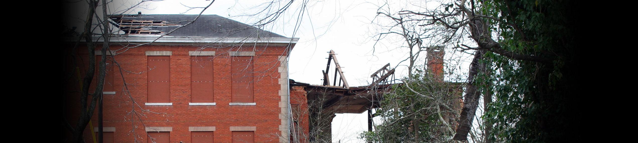 Wind & Storm Damage Repairs in Paul Davis Emergency Services of Terre Haute, IN